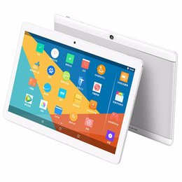 Wholesale Metal Case Tablets - 10.1 inch Metal case Tablet android tablet PC Octa Core RAM 4GB ROM 64GB 2560X1600 IPS Dual sim card Phone Call Tablet PC Android 6.0 GPS 3G