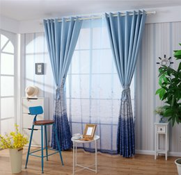 Wholesale Print Blackout Curtains - Shading Window Curtains Cartoon Creative Design Castle Printing Curtain For Living Room Children Bedroom Decorate Mult Color 23xs C