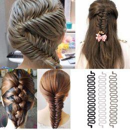 2019 новый клип для волос Новая Мода Женская Укладка Волос Клип Stick Bun Maker Braid Инструмент Аксессуары Для Волос # R074 скидка новый клип для волос