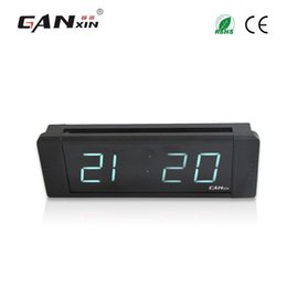 "Wholesale Park Clock - [Ganxin]1"" Display 4 Digit for Popular High Quality Low Voltage Digital Wall Countdown Clock timer in White Tube Automatic Parking clock"