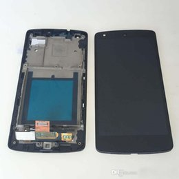 Wholesale Lg Nexus Digitizer - For Google Nexus 5 LG D820 D821 LCD Display with Touch Digitizer Screen Assembly + black Frame Parts Free Shipping