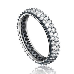 Wholesale Inspiration White - Hot Sale 925 Sterling Silver Inspiration Within Stackable Ring Clear CZ Crystal Luxury Jewelry Gift