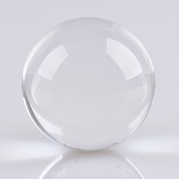 Wholesale Clear Crystal Ball Sphere - 200mm Huge Asian Rare Quartz Clear Magic Crystal Healing Ball Sphere +Wood Stand