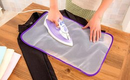 Wholesale Clothes Press - Protective Press Mesh Ironing Cloth Guard Protect Delicate Garment Clothes 40*60cm