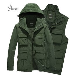 Wholesale Outdoor Jeep - winter outdoor jackets Army AFS JEEP Jacket 2016 Men Military Tactical Coat Winter Windproof Jackets Camouflage Clothing sjia872