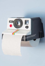Wholesale Plastic Product Home - Wholesale- Bathroom new creative home tissue box explosion product Cameras free shiipping