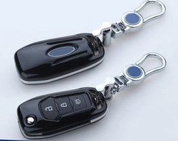 Wholesale Ford Focus Flip Key - ABS Paint Protection Cover for Ford Fusion Flip Key Fob 3 Button Remote Case