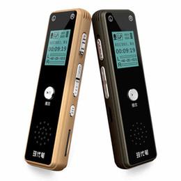 Wholesale Audio Recorder Device - Wholesale-Voice recorder Mini HD Digital long distance Voice Recorders Professional audio Recording Pen Screen activate dictaphone device