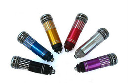 Wholesale Auto Air Purifier Ionizer - 12V Mini Air Purifier,12V Mini Auto Car Fresh Fresher Air Ionic Purifier Oxygen Bar Ozone Ionizer Cleaner Freshener