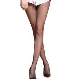 Wholesale New Big Pantyhose - Wholesale- New Design European Fashion Women's Tight Super Big Net Fish Net Pantyhose Long Stockings Tight