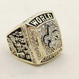 Wholesale Saints Rings - New High Quality 2009 Mens Orleans Super Bowl Saint World Championship Ring