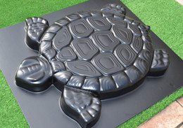 Wholesale Garden Cement - mould cooling Turtle Stepping Stone Mold Concrete Cement Mould ABS Tortoise for Garden Path Walking Path Maker Mold Garden Brick DIY Decor