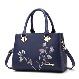 Wholesale Chinese Nudes - 2017 New Fashion Chinese style Middle age tote bags single shoulder bag crossbody bags classical embroidery muti colors