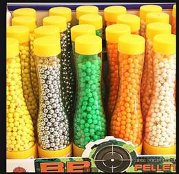 Wholesale Plastic Bb - 700pcs 1bottle 6mm bb gun ammos.mini hard plastic random colors ball with no hole pistol for bb sniper gun shot paintballs