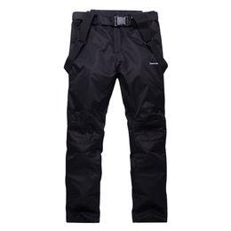 Wholesale Mens Mountain - Wholesale- Unisex Waterproof snowboard pants men women ski trousers Breathable Warm mens snow pant for mountain skiing suspenders plus size