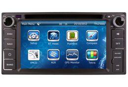 car stereo for rav4 NZ - 2-Din Car DVD Player GPS Navigation for Toyota Corolla Camry RAV4 Highlander with Navigator Radio Bluetooth TV USB SD AUX Map Video Audio