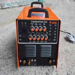 Wholesale Dc Inverter Mma - JASIC WSE-200P TIG200P AC DC TIG MMA Square Wave Pulse Inverter Welder 220-240V