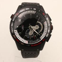 Wholesale Grand Calibre 36 Rs Black - Luxury Men Automatic Watch Grand Calibre RS 36 Tag Mens Watches Mechanical Glass Transparent Back Rubber Strap