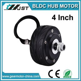 Wholesale Electric Scooter Dc Motor - High quality good price 4inch hub motors, dc brushless gearless hub motor, mini electric scooter motors