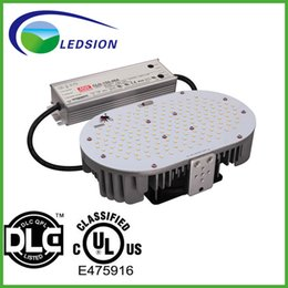 Wholesale Canada Led Lighting - 5 years warranty UL DLC listed led outdoor lighting 120W 150W Led retrofit kit 5000K With MeanWell For USA Canada market