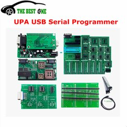 Wholesale Upa Chip Programmer - 2017 Latest V1.3 UPA-USB Programmer Full Adapter UPA USB 1.3 EEPROM ECU Chip Tunning UPAUSB OBD2 Diagnostic Tool Free Shipping