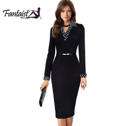 Wholesale Cocktail Dresses Flutter Sleeves - Wholesale- Plus Size,2016 Women Sexy Black Fake Two Piece Patchwork Casual Summer Dress,Vestidos Cocktail Party Bodycon Office Work Dresses