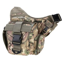 Wholesale Duty Gear - 2016 New Large Sling Single Shoulder Bag Backpack Gear Pack Tactical One Strap Heavy Duty Sport Camera Chest Pack