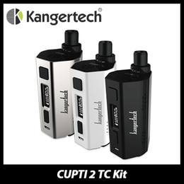 new kanger tanks Coupons - Wholesale- New 80W Kanger CUPTI 2 TC Starter Kit 5ml Tank Capacity with max 80W output with TC Mode Powered by 2x 18650 Battery NO Battery
