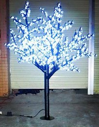 LED Christmas Light Cherry Blossom Tree Light 960pcs LED 6ft / 1.8 M Altezza 110VAC / 220VAC Antipioggia Uso Esterno Trasporto di Goccia LLFA da