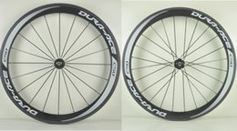 Wholesale Tubular Road Wheels - Full carbon road bike wheel, 50mm clincher tubular ,classic 25mm width 700C road bike carbon wheel