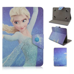 """Wholesale Ipad Covers Uk - Universal Flip Retro Vintage USA UK Flag Pattern Adjustable Snow PU Leather Cases For Ipad 7"""" 8"""" 10 Inch Tablet PC Universal Cover"""
