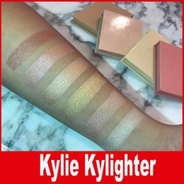 Wholesale Kylighter Kylie Highlighters Kylie Cosmetics Strawberry Shortcake Candy Cream Salted Caramel Banana Split Kylighter French Vanilla DHL