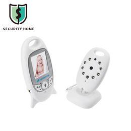 Caméra de sécurité couleur de gros sans fil 2.0 pouces de surveillance de la température 2 voies Talk NightVision IR LED avec moniteur de bébé 8 Lullaby ? partir de fabricateur