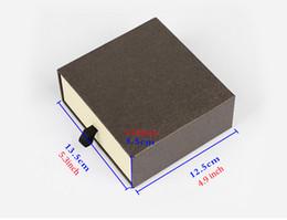 Wholesale Paper Craft Storage - Men's Belt Storage Box For Men Women, 2 Color Drawer Style Belt Gift Packaging Box Organizer (Black Brown)