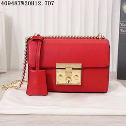 Wholesale Open Advanced - Women leather shoulder bags equisite 20cm wide low-key advanced bags metal hasp genuine cow leather Square upright shape