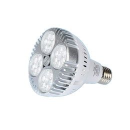 Wholesale Ul Led Par Lamp - CREE E27 Par 30 Bulbs 35W Led Spot Bulbs Light 24LEDs 3600 Lumens tracking lamps AC 85-265V CE UL