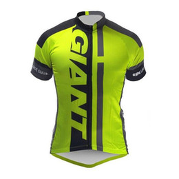 Wholesale Pro Clothing - 2017 NEW Giant cycling jersey pro team ropa ciclismo hombre bike mtb cycling clothing bicicletta maillot ciclismo summer bicycle wear D0607