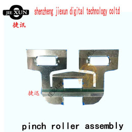 Wholesale Printer Rollers - top quality inkjet printer machine pinch roller assembly with double roller for infiniti phaeton crystaljet iconteck digital machine part