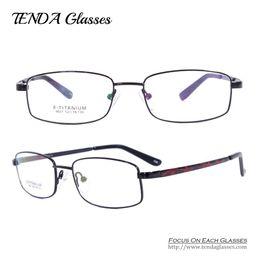 Wholesale Titanium Eyewear Wholesales - Wholesale- Fashion Glasses Degree Flexible Titanium Eyewear Optical Frame Oculos De Grau For Women