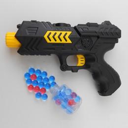 Wholesale Pistol Gun Games - Soft Water Bullet Toy Gun Pistol Gift Kids Crystal Bullets 2 in 1 CS Shooting Game Set water gun