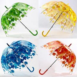 Wholesale Long Hanging Lights - Big Cute Bubble Deep Dome Umbrella Gossip Girl Wind Resistance 4 Colors Arched Apollo Umbrella Mushroom Bubble Umbrella 3002013