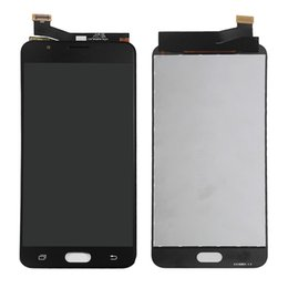 Wholesale Original Touch Screen Digitizer - Original LCD For Samsung Galaxy J7 Prime LCD Display Touch Screen Digitizer Full Assembly Free Shipping