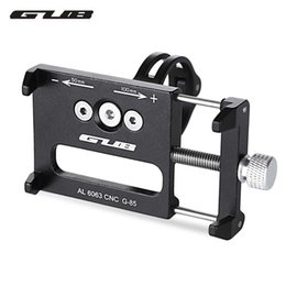 Wholesale G Bikes - GUB G - 85 Aluminum Alloy MTB Bicycle Phone Holder Support GPS For Bike Handlebar Cycling Accessories Bike Road Accessories +B