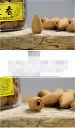 Wholesale Natural Smoking Herbs - 2016 chinese Pure Natural Fragrance Series backflow Smoke Night willow herb Incense Fow Hollow particle concept of a box of 80 tablets