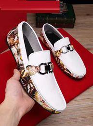 Wholesale Oxford Heels White - Men's brand designer genuine leather shoes men casual shoes slip on business wedding oxfords evening formal dress shoes size 38-44