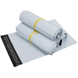 Wholesale Mailbags Envelopes - 17*30cm High Quality white Self-seal Mailbag Plastic Envelope Courier Bags Waterproof Postal Mailing Bags
