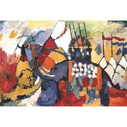 Canada Arts de haute qualité Wassily Kandinsky The Elephant Kandinsky peint à la main Reproduction de tableaux à l'huile Grande toile cheap elephant art paintings Offre