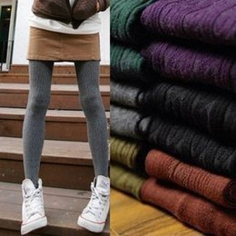 Wholesale Leggings Stirrups - Winter Warm Girl Comfortable Women Cotton Tights Pants Leggings Stirrup Trousers One Size