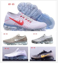 Wholesale Full Air - Many colors Air Vapor 2018 mens sports shoes Full Crusion Sole women outdoor running sneaker shoes breathable tennis footwear size 36-45