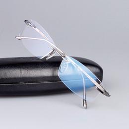 Canada 2017 NOUVEAU style Ultra-léger Pure-Titanium Business style sans monture carrée optique lunettes cadre lunettes de vue lunettes de vue durables 6379 supplier eyewear styles Offre